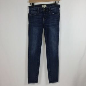 Current Elliott The Ankle Skinny Jeans, Size 25